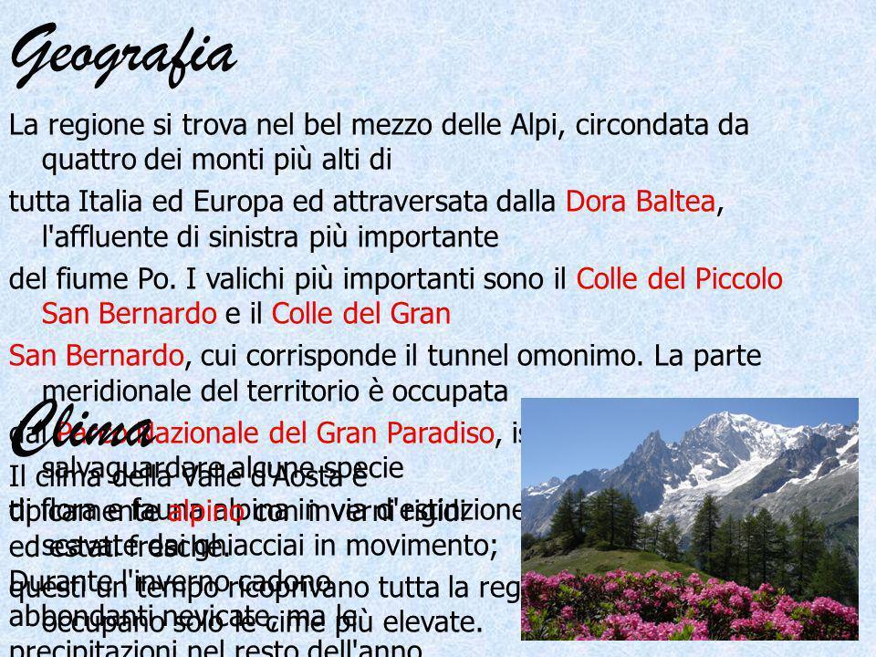 Geografia La regione si trova nel bel mezzo delle Alpi, circondata da quattro dei monti più alti di tutta Italia ed Europa ed attraversata dalla Dora