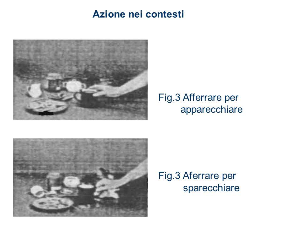 Fig.3 Afferrare per apparecchiare Fig.3 Aferrare per sparecchiare Azione nei contesti