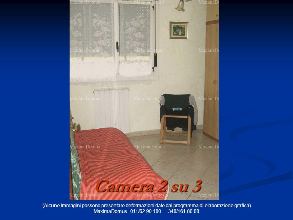 (Alcune immagini possono presentare deformazioni date dal programma di elaborazione grafica) MaximaDomus 011/62.90.180 - 348/161.88.88 Camera 2 su 3