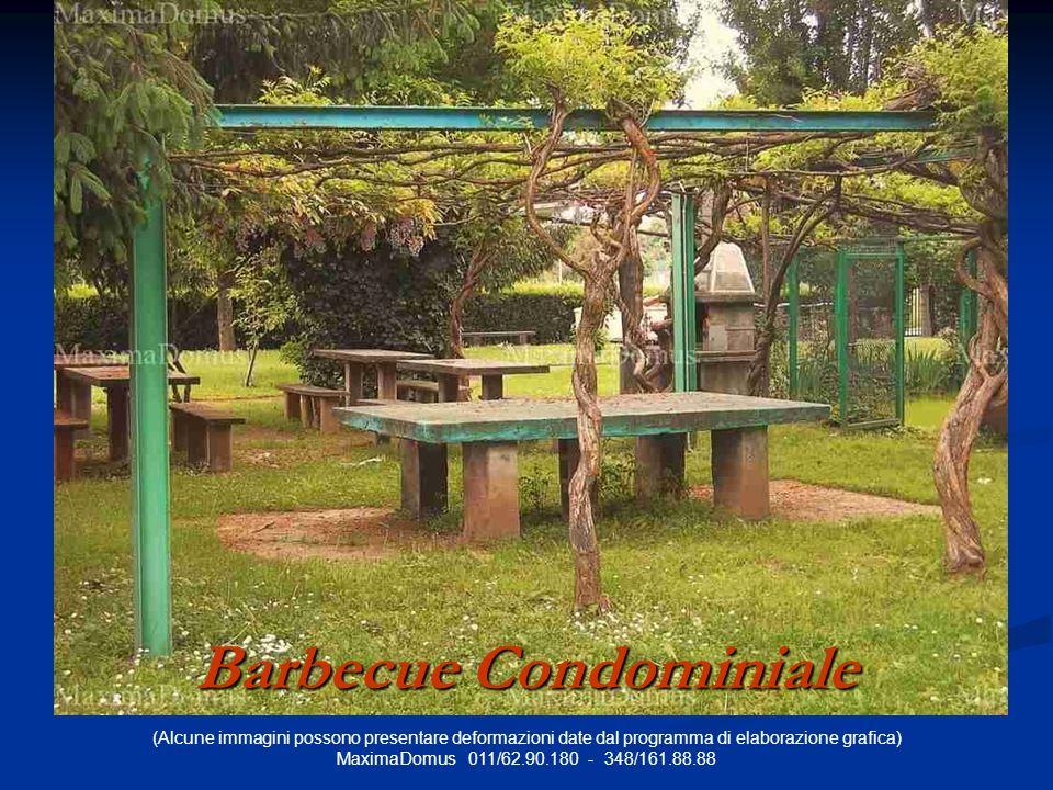 (Alcune immagini possono presentare deformazioni date dal programma di elaborazione grafica) MaximaDomus 011/62.90.180 - 348/161.88.88 Barbecue Condominiale