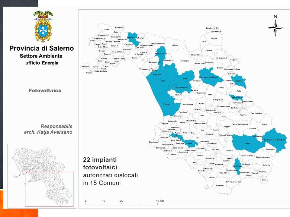 La Provincia di Salerno, che comprende ben 158 Comuni, è per vastità, complessità e diversificazione del territorio, sicuramente una delle province più varie d Italia.