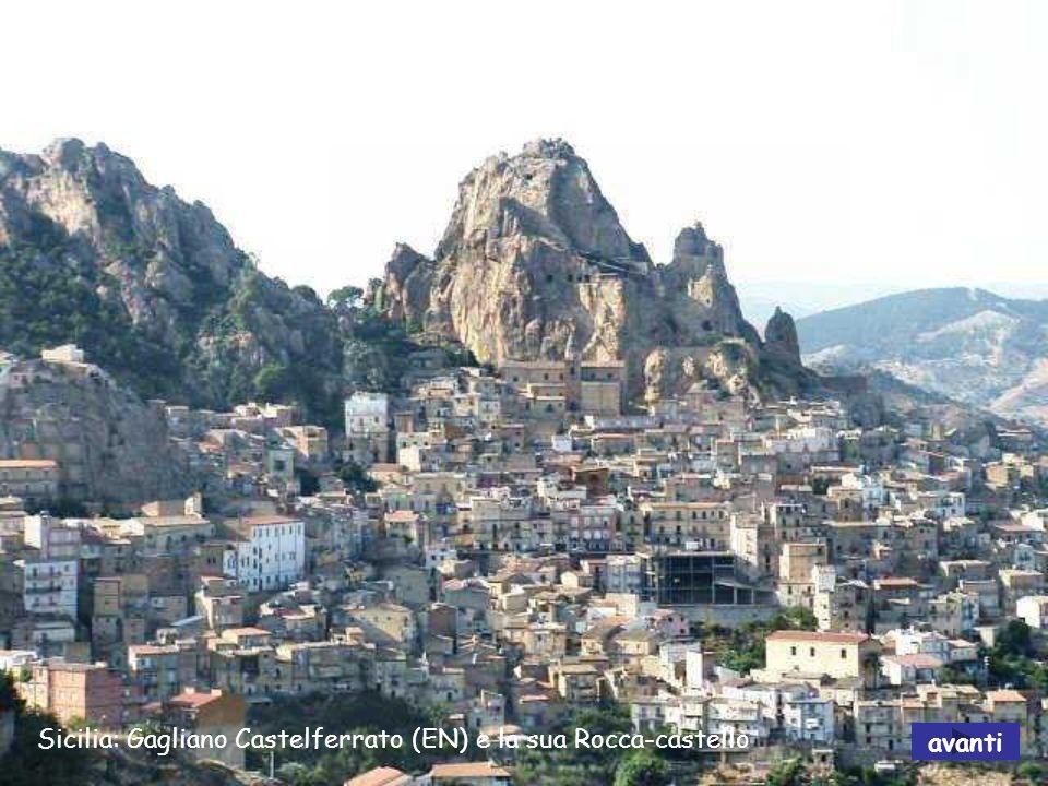 Sicilia: Caltanissetta - Abbazia di Santo Spirito (XI secolo) avanti