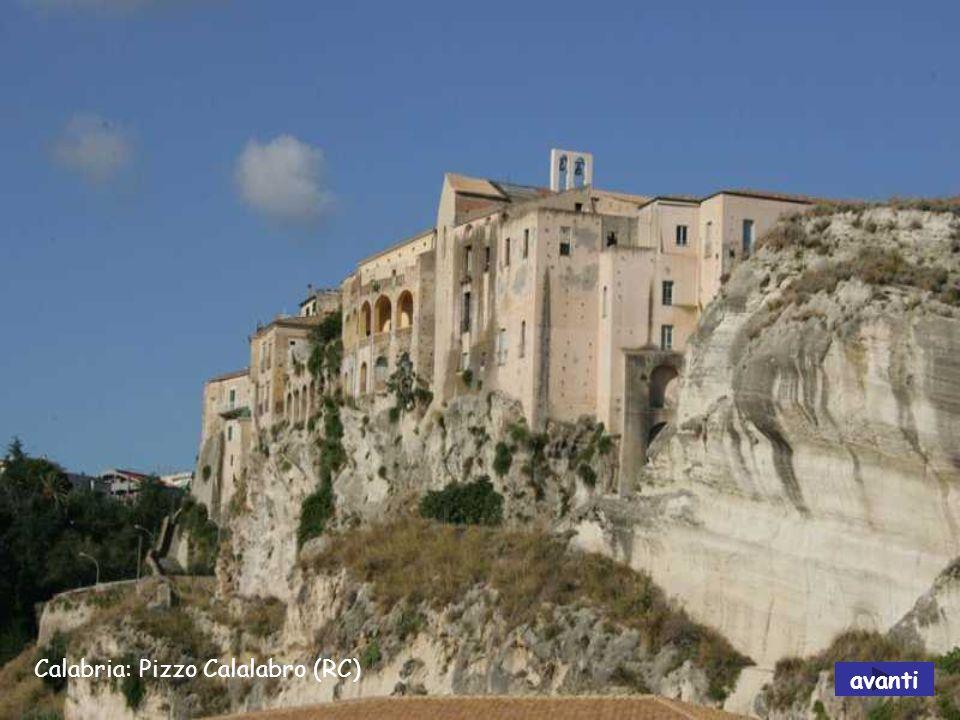 Calabria: Capo Vaticano avanti