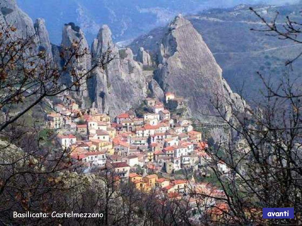 Basilicata: Diga di Senise avanti