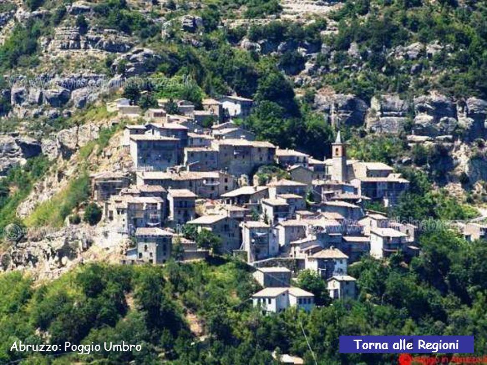 Abruzzo: Pacentro – una via avanti