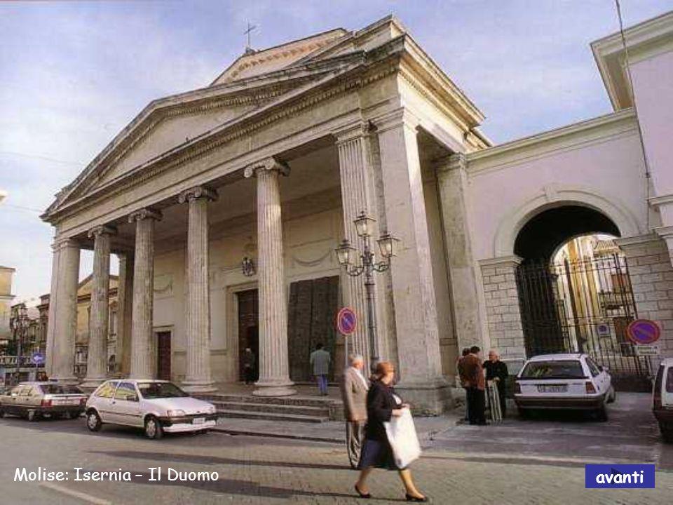 Molise: Santuario di Castelpetroso avanti