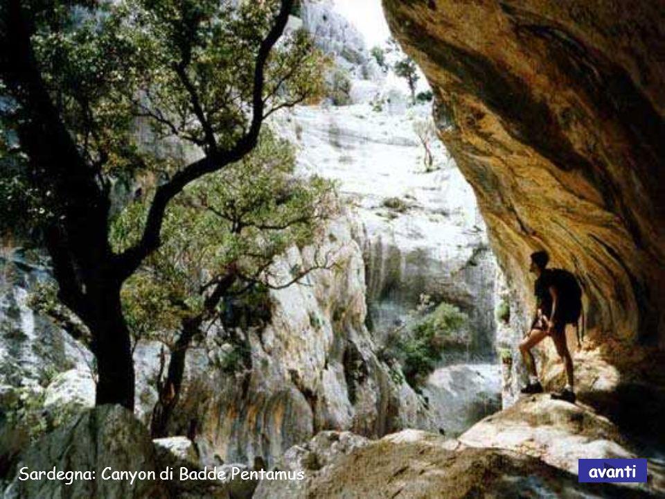 Sardegna: Irgas – Cascata Piscina avanti