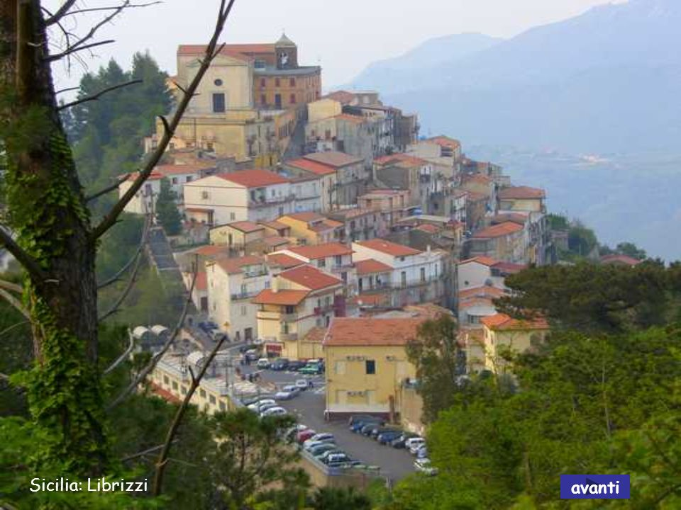 Calabria: Stignano - Villa Caristo avanti