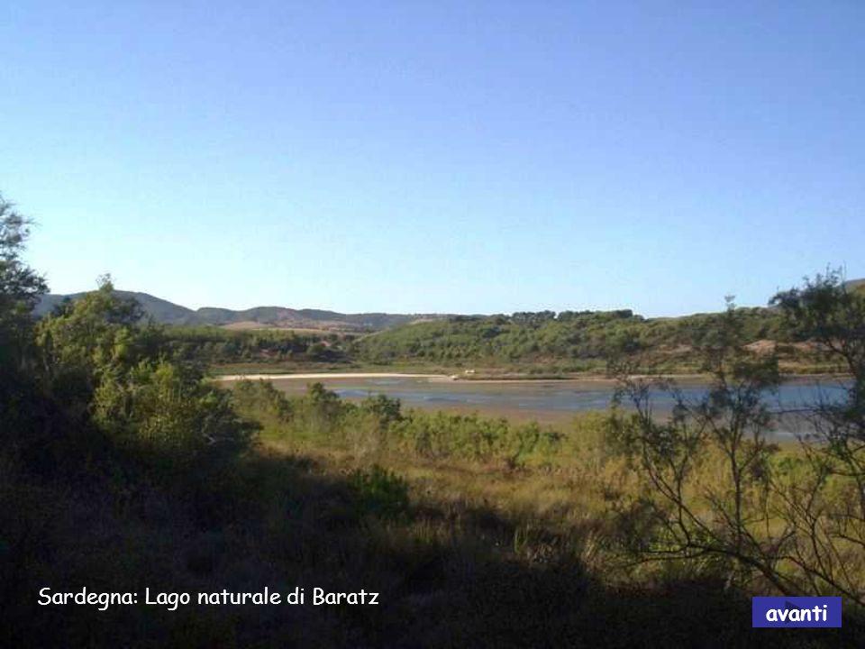 Sardegna: Lago Flumendosa avanti