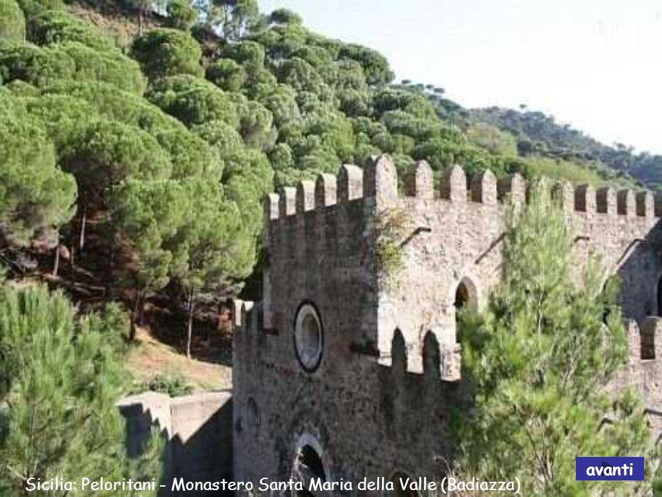 Sicilia: Peloritani - Monastero Santa Maria della Valle (Badiazza) avanti