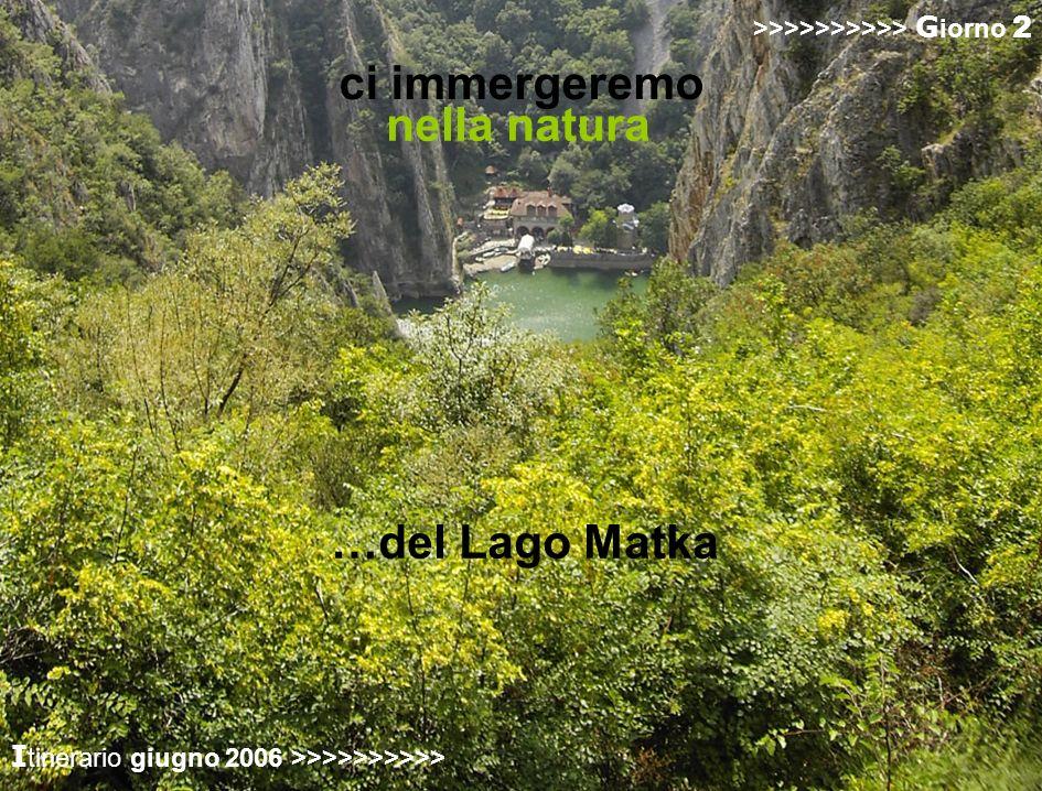 >>>>>>>>>> G iorno 2 nella natura >>>>>>>>>> G iorno 2 …del Lago Matka I tinerario giugno 2006 >>>>>>>>>> >>>>>>>>>> G iorno 2 ci immergeremo