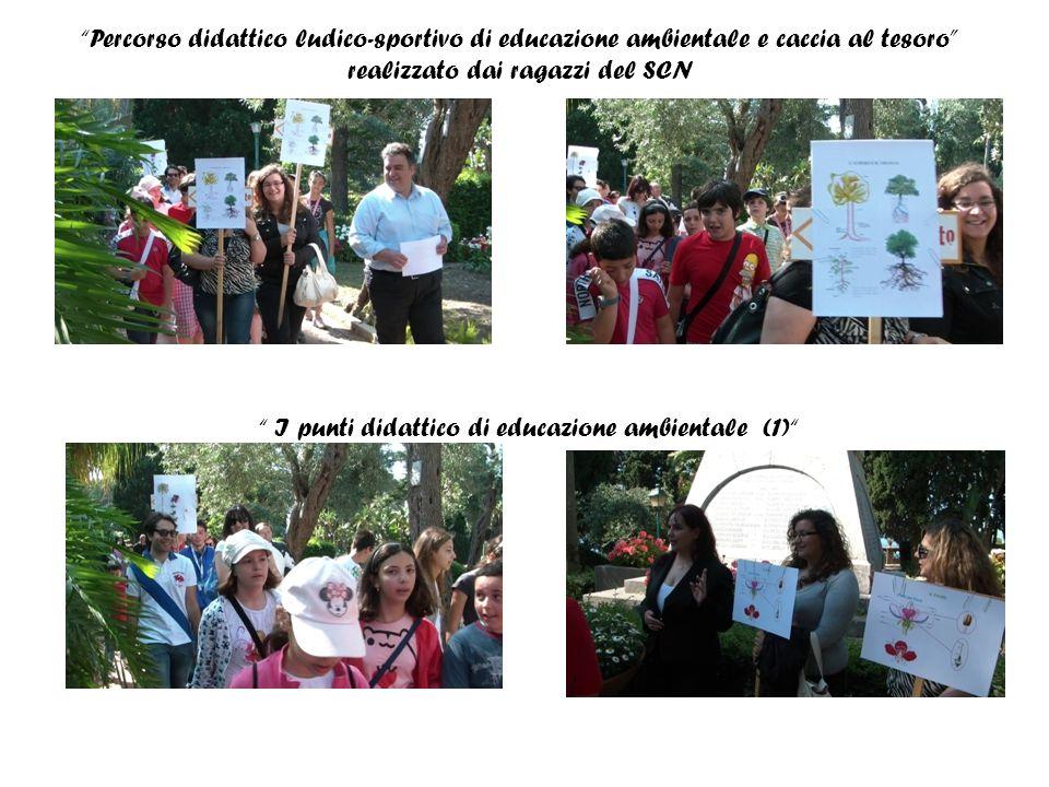 Percorso didattico ludico-sportivo di educazione ambientale e caccia al tesoro realizzato dai ragazzi del SCN I punti didattico di educazione ambientale (1)