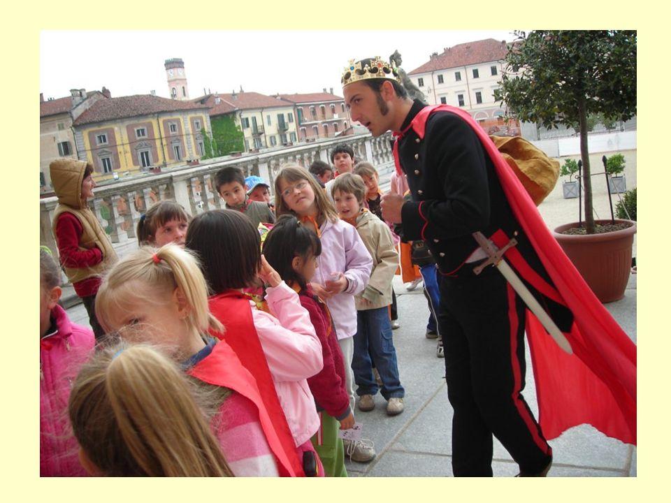 Alcuni di noi però hanno dei dubbi: - È veramente il re, o è Fabrizio la nostra guida? Chissà!!