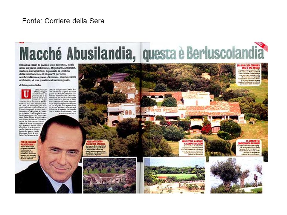 Nel parco di 60 ettari (equivalenti a 600mila metri quadrati) Berlusconi ha voluto un teatro greco-romano dove si esibisce con il cantautore napoletano Apicella