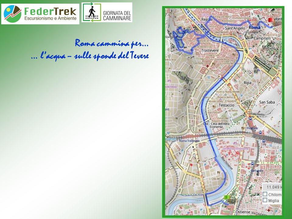 Roma cammina per… … lacqua – il fiume Aniene da Ponte Mammolo
