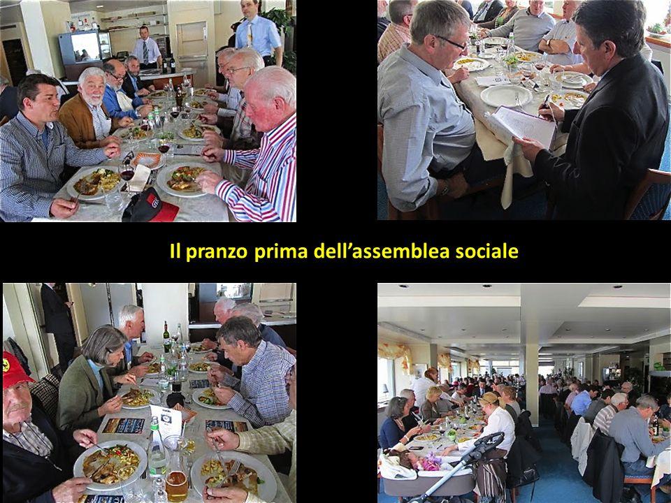Alberto Esther Il pranzo prima dellassemblea sociale