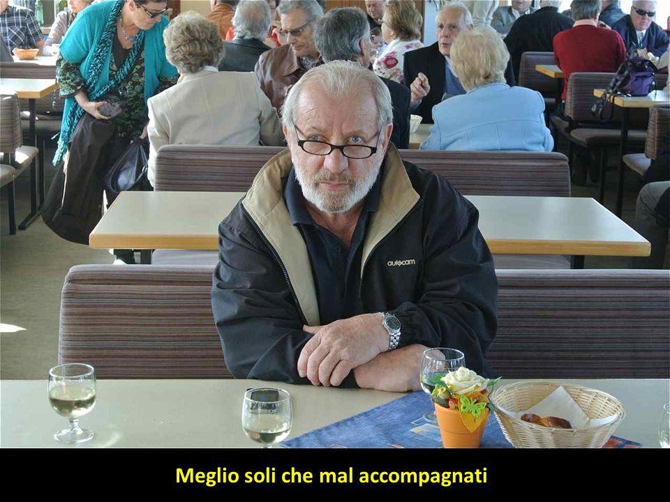 Alberto Esther Meglio soli che mal accompagnati