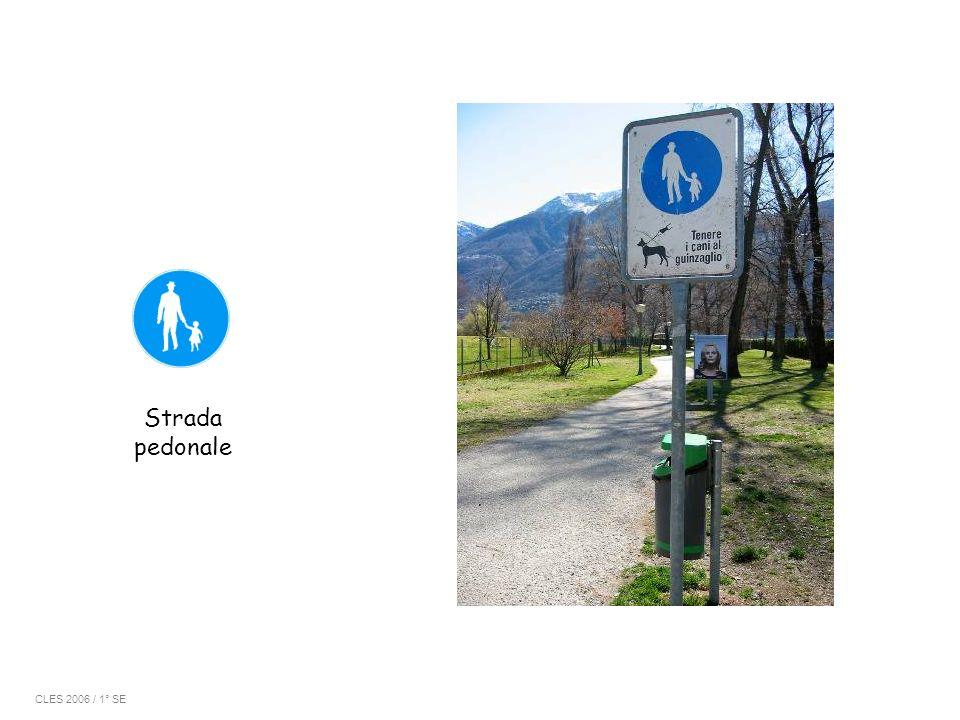 Strada pedonale CLES 2006 / 1° SE