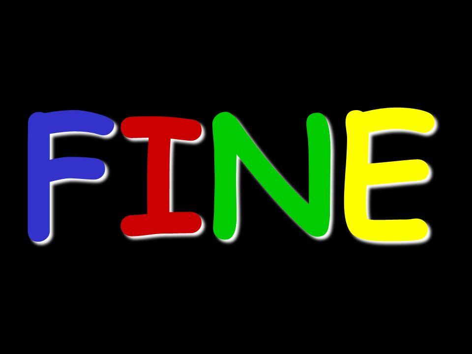 FINEFINEFINEFINE