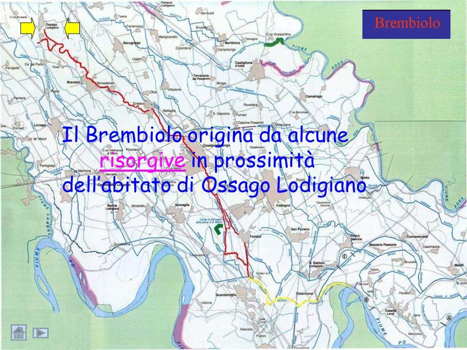 …un corso d'acqua lungo oltre 23 Km che attraversa la campagna ed i paesi con una storia secolare alle spalle.