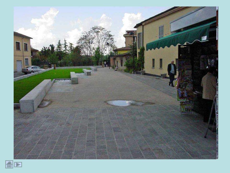 Il percorso del Brembiolo dentro la città di Casale: fotografia satellitare