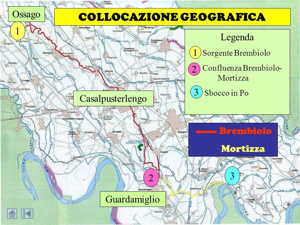 … la Mortizza confluisce nel Po in località Garrone