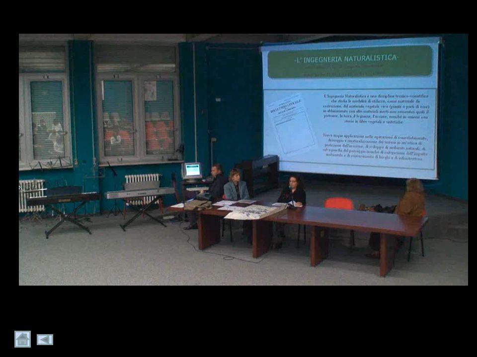 Che cosa abbiamo fatto finora? lezionilezioni Abbiamo assistito a lezioni suglilezioni interventi di riqualificazione ambientale attuati sul Brembiolo