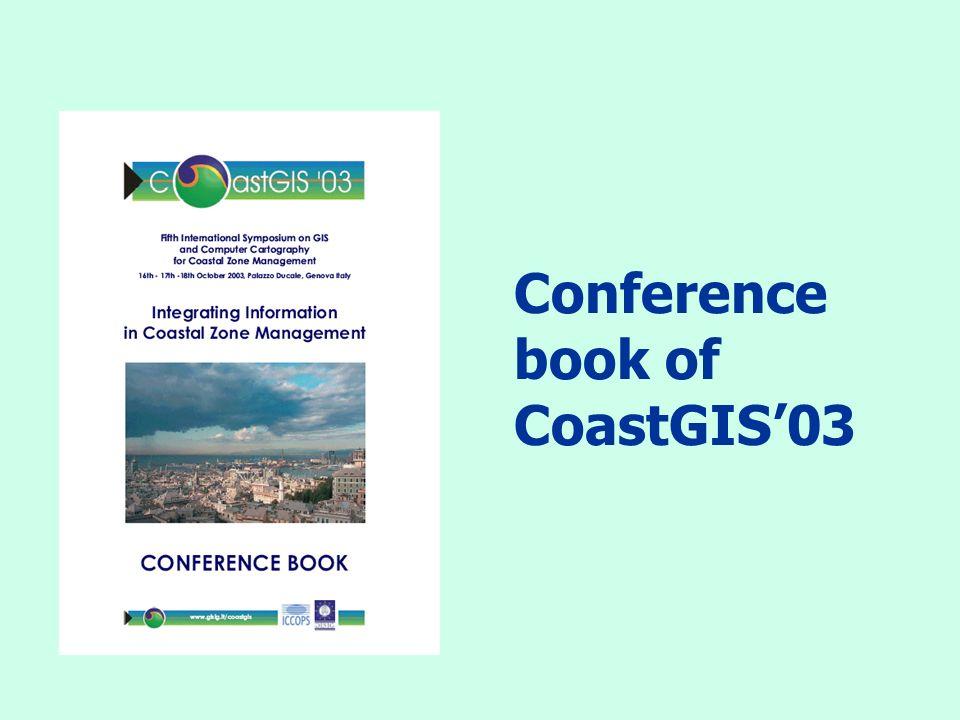 Conference book of CoastGIS03