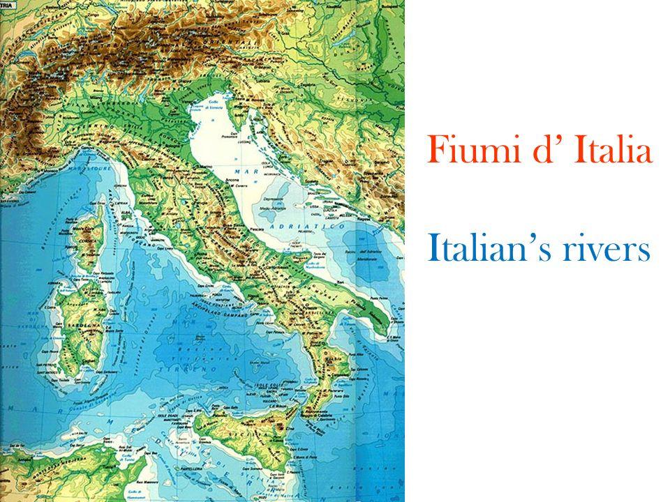 Fiumi d Italia Italians rivers