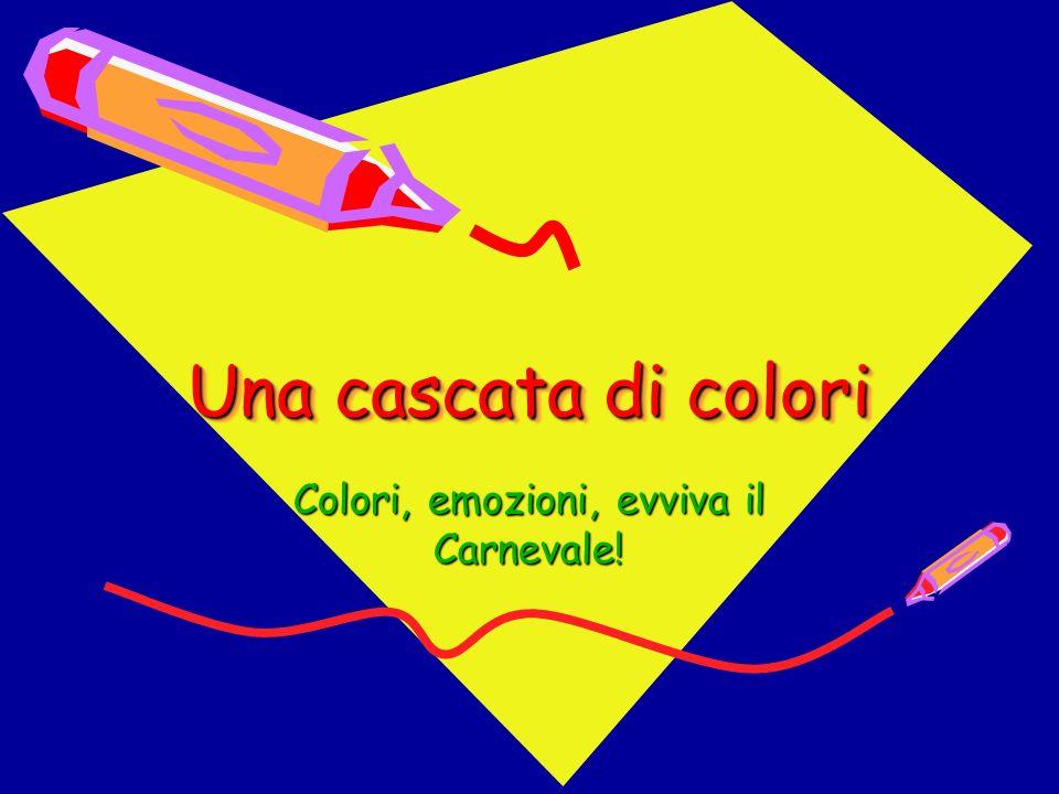 E arrivato il Carnevale nella nostra scuola cè una cascata di colori!