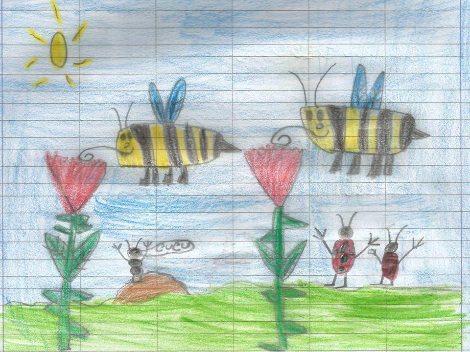 Benvenuta primavera! Ciao primavera, sei arrivata, profumata e colorata. gli abitanti del prato fanno festa: le farfalle giocano a rincorrersi, le api