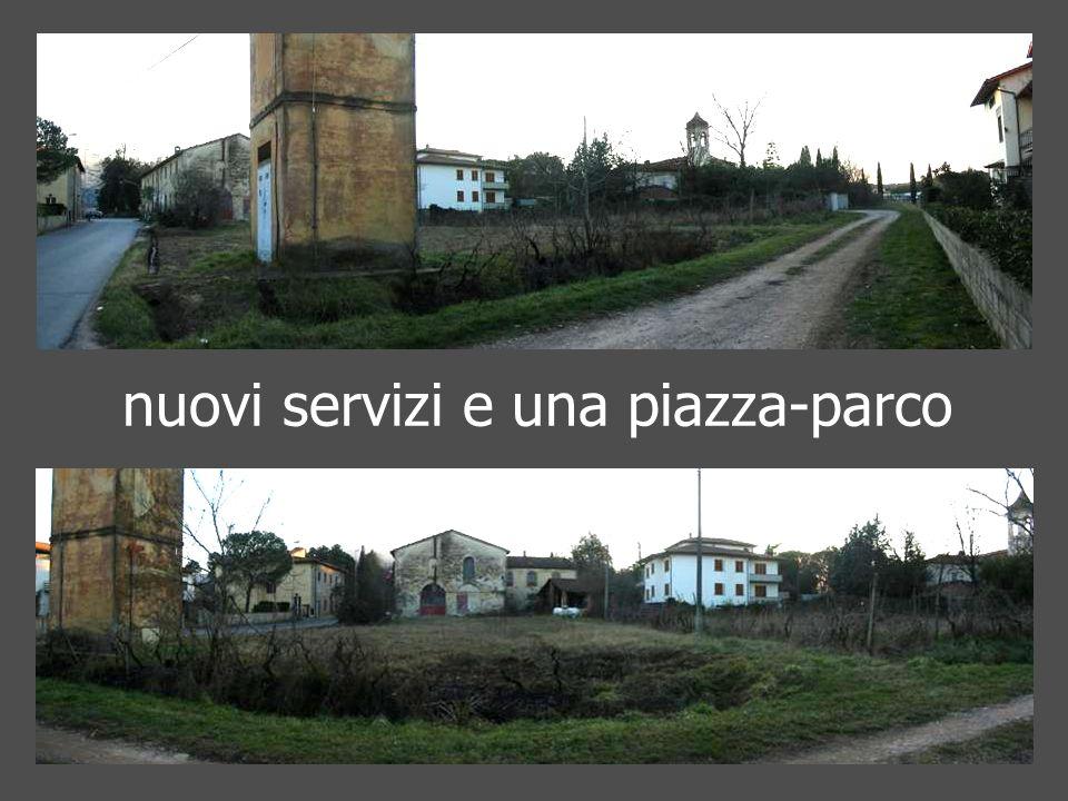 nuovi servizi e una piazza-parco