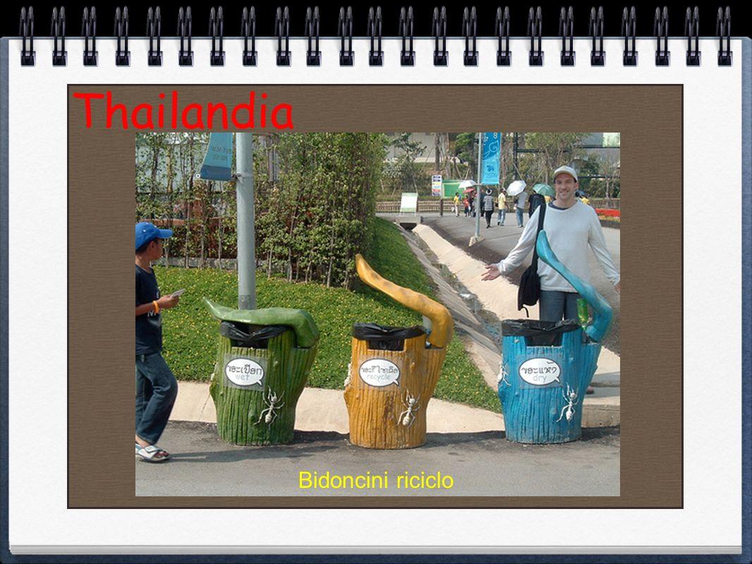 Thailandia Bidoncini riciclo