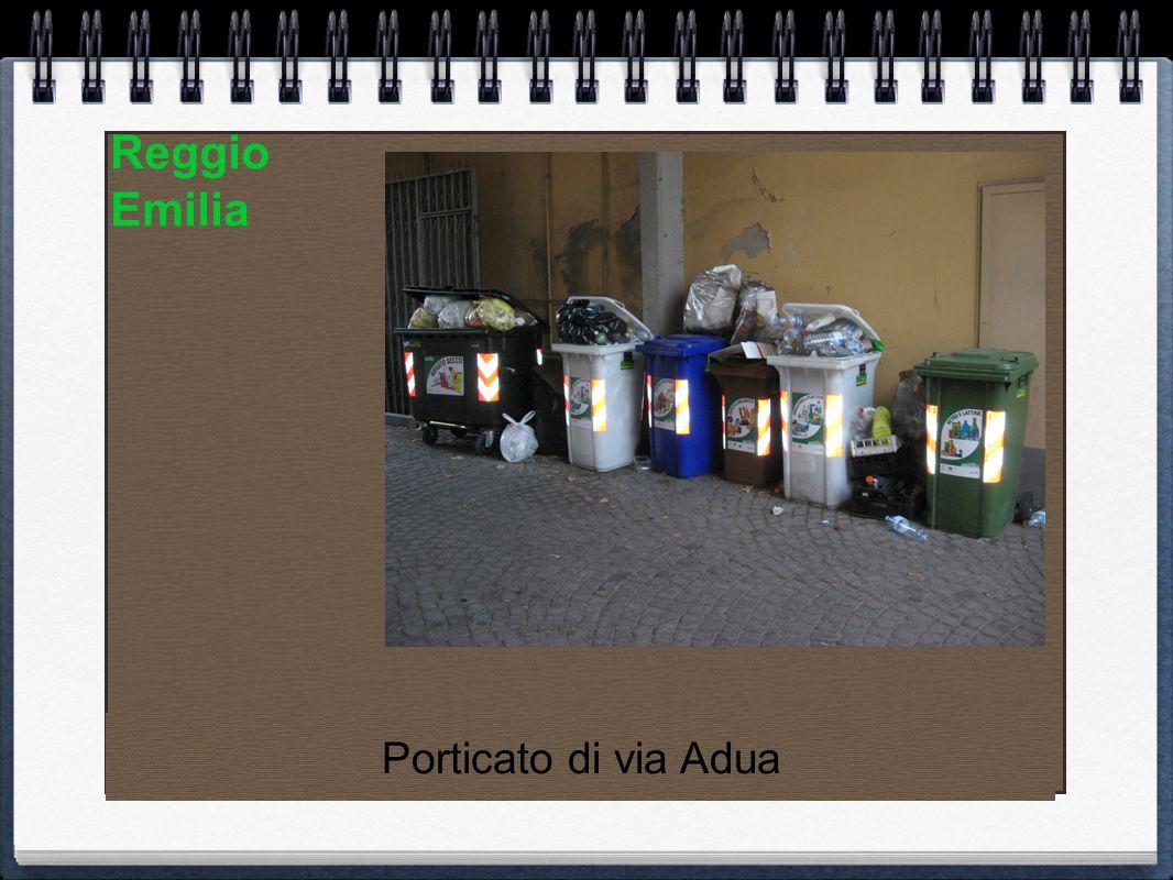 Reggio Emilia Porticato di via Adua