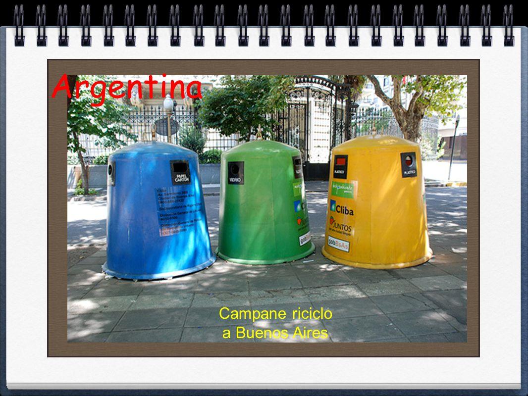 Argentina Campane riciclo a Buenos Aires