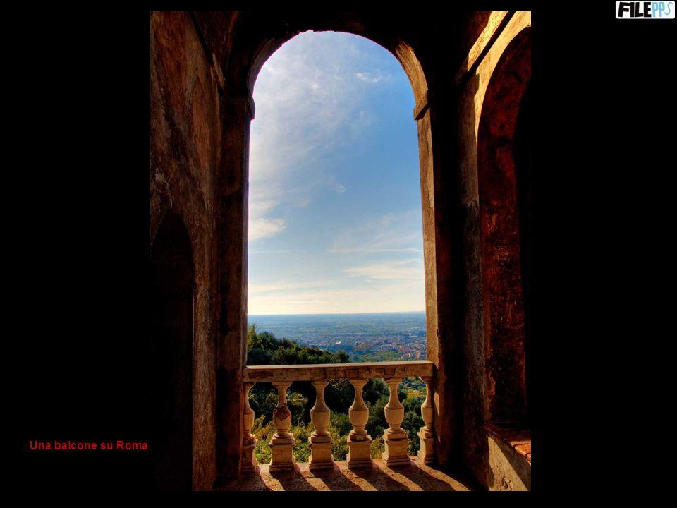 Una balcone su Roma