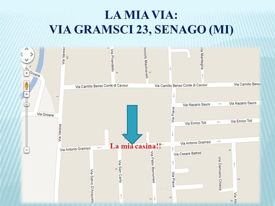 _________ LA MIA VIA: VIA GRAMSCI 23, SENAGO (MI) La mia casina!!