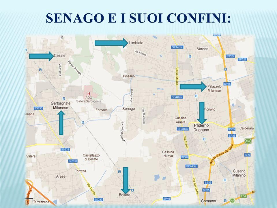 SENAGO E I SUOI CONFINI: