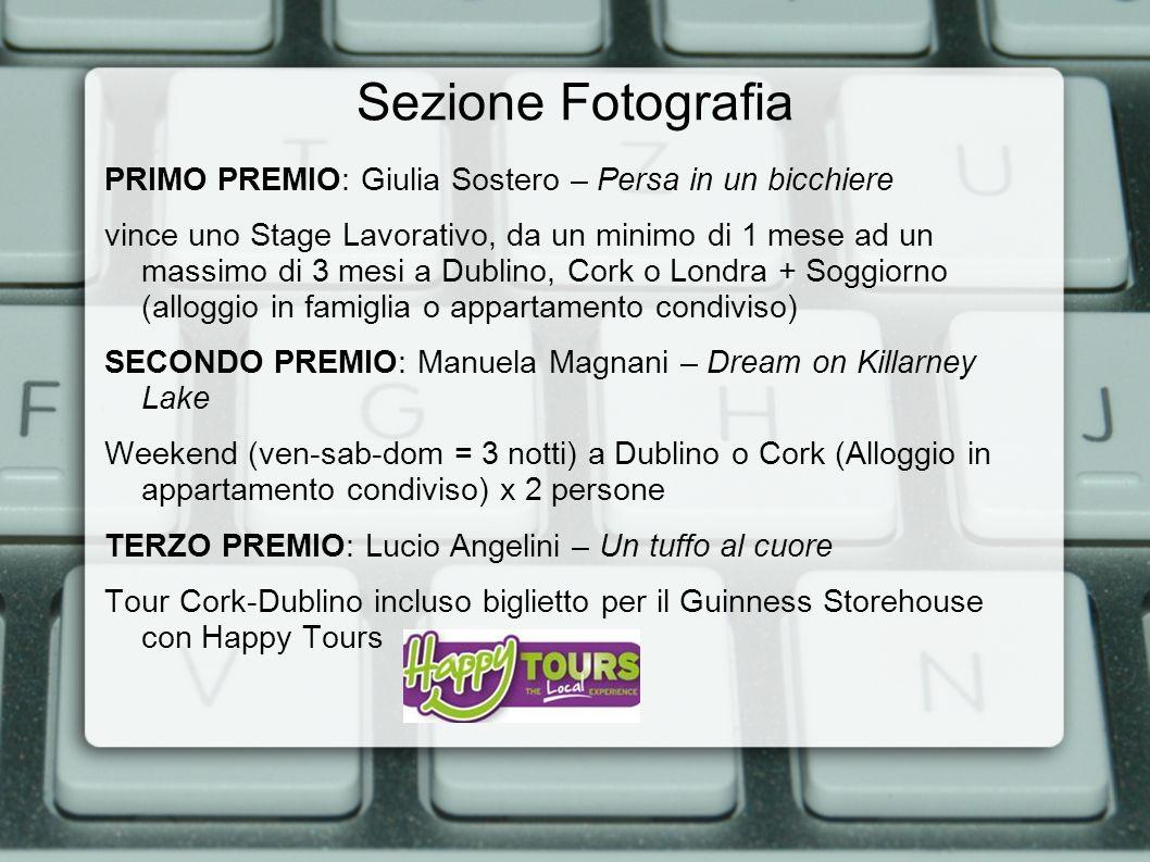 Sezione Fotografia PRIMO PREMIO: Giulia Sostero – Persa in un bicchiere vince uno Stage Lavorativo, da un minimo di 1 mese ad un massimo di 3 mesi a D