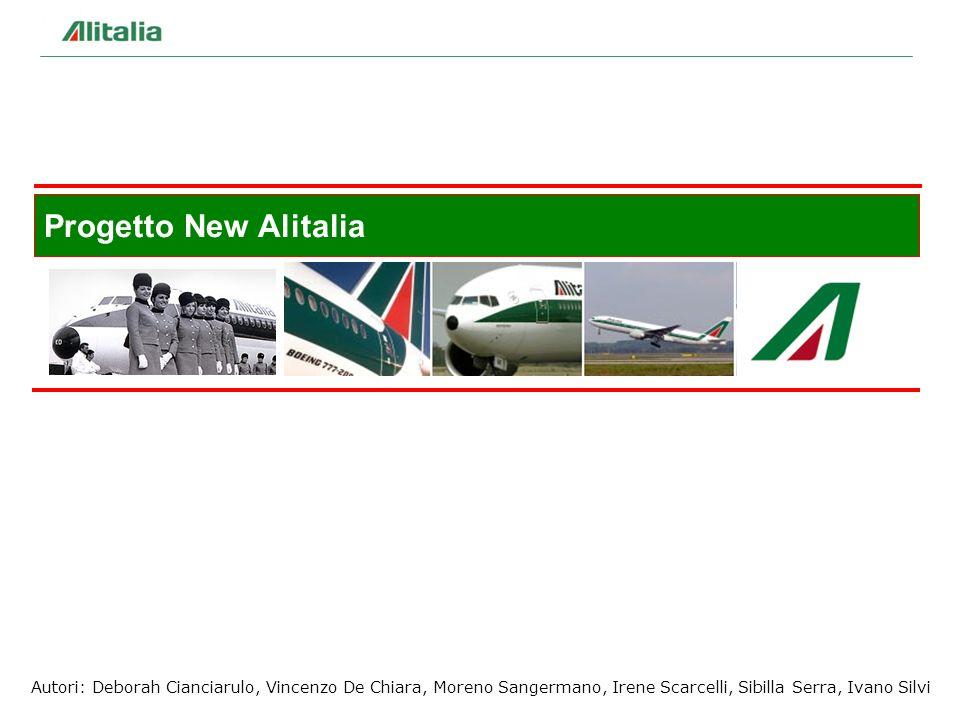 33 Autori: Deborah Cianciarulo, Vincenzo De Chiara, Moreno Sangermano, Irene Scarcelli, Sibilla Serra, Ivano Silvi Progetto New Alitalia