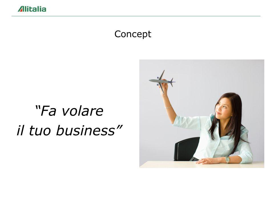 Concept Fa volare il tuo business