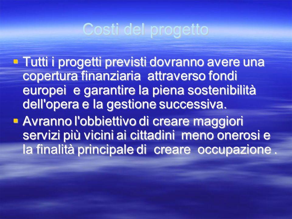 Finalità del progetto In Salerno e Provincia non esistendo realtà industriali capaci di dare risposte concrete al problema delloccupazione. In Salerno