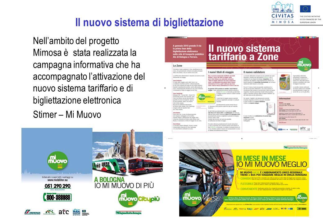 Il nuovo sistema di bigliettazione Nellambito del progetto Mimosa è stata realizzata la campagna informativa che ha accompagnato lattivazione del nuov