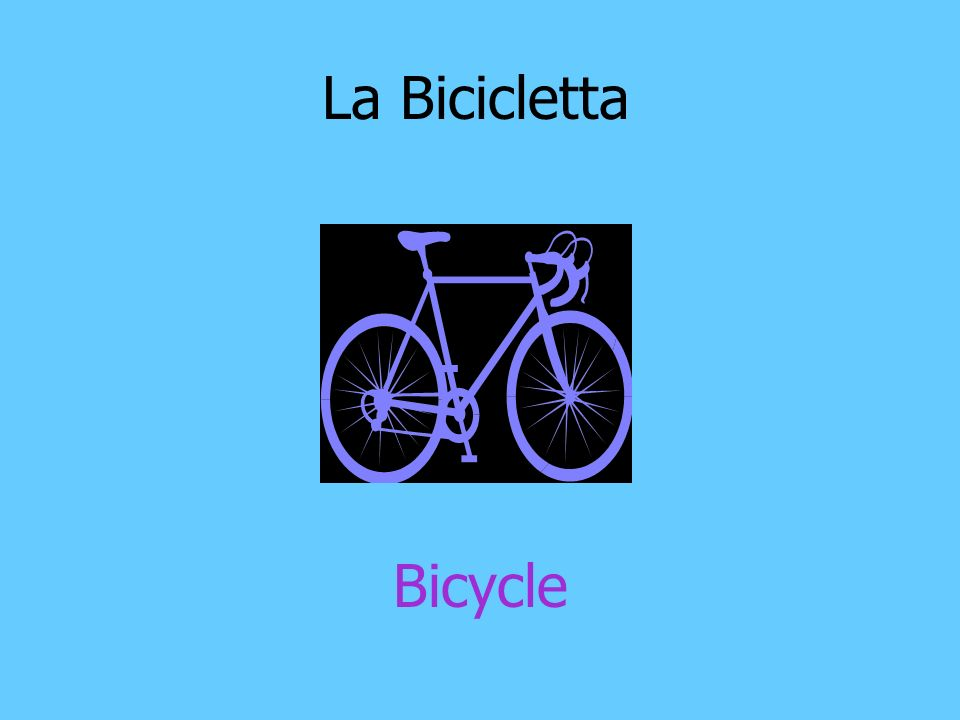 La Bicicletta Bicycle