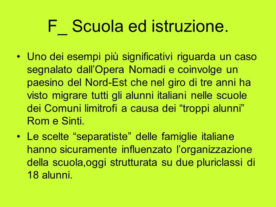 F_ Scuola ed istruzione.