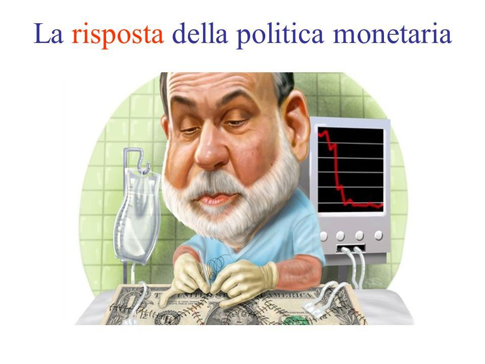 La risposta della politica monetaria