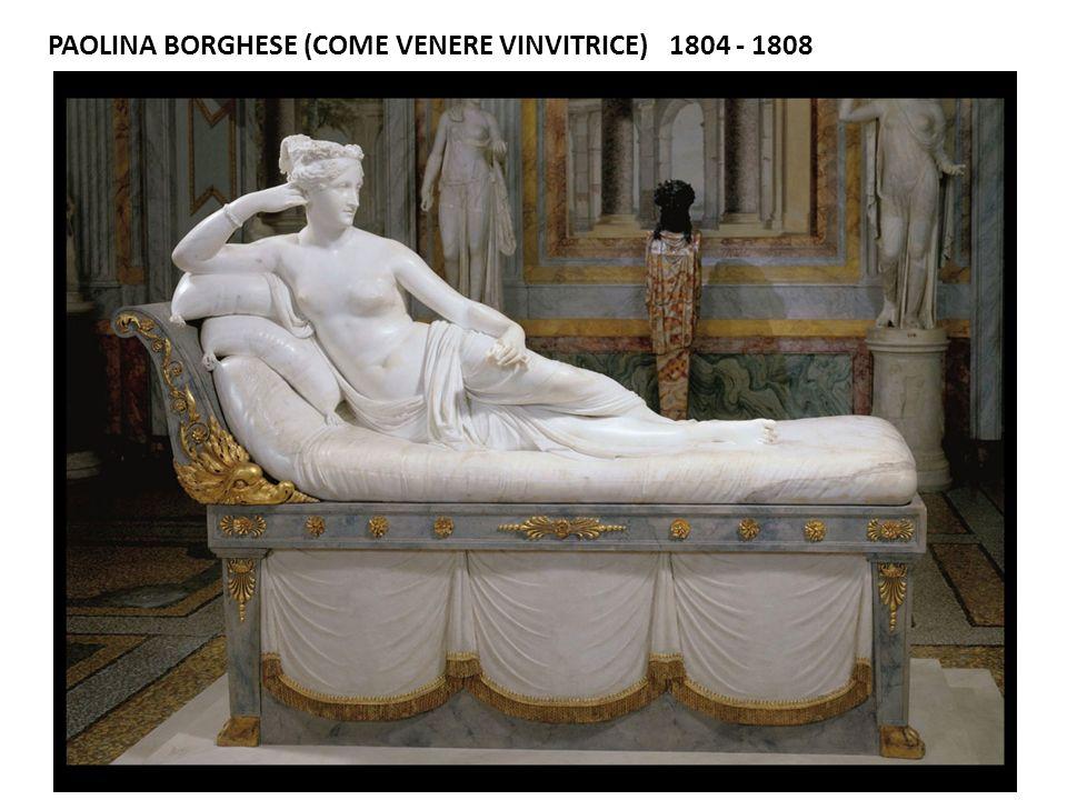PAOLINA BORGHESE (COME VENERE VINVITRICE) 1804 - 1808