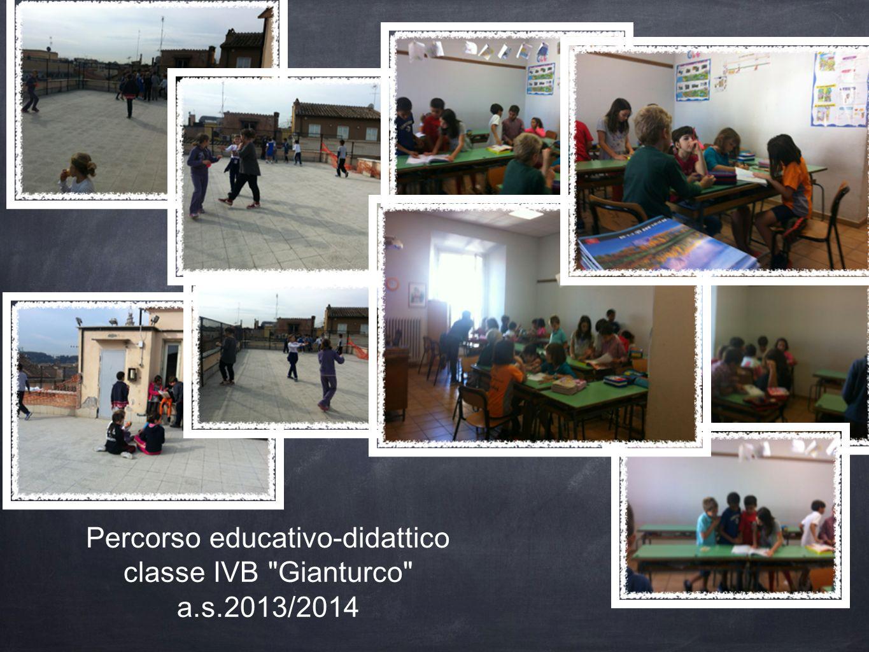 Percorso educativo-didattico classe IVB