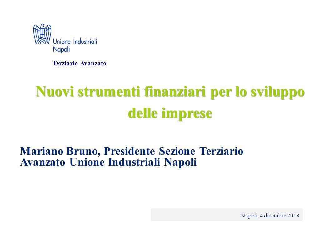 © 2013 Deloitte Touche Tohmatsu Limited - Private and confidential Nuovi strumenti finanziari per lo sviluppo delle imprese Napoli, 4 dicembre 2013 Te