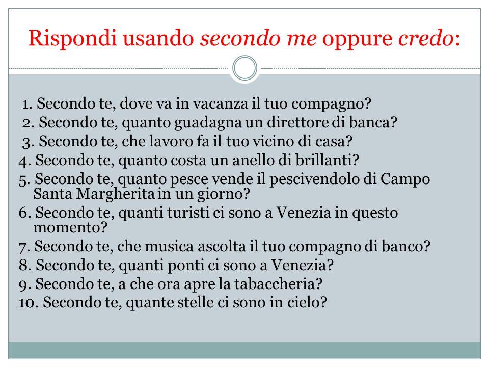 What do we do today.(Cosa facciamo oggi?) 1. We review some topics of Module 1,2,3,4; 2.